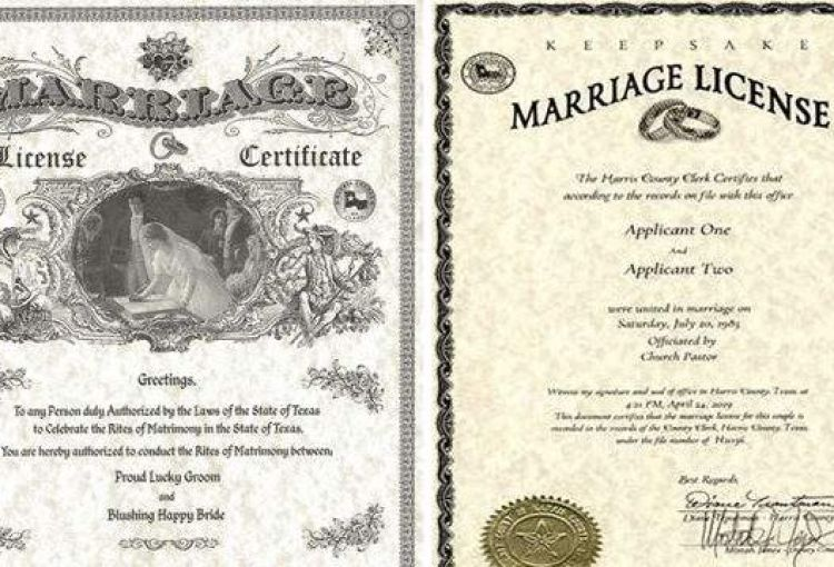 Texas Marriage Apostille
